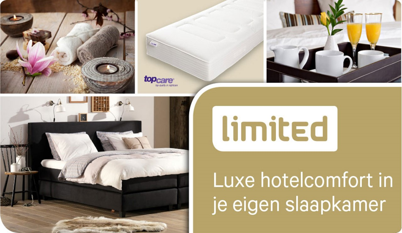 Limited: luxe hotelcomfort